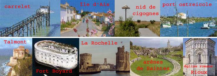 Saintes 17 plan - Office du tourisme rochefort sur mer ...
